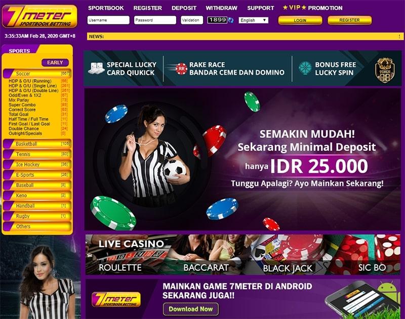 7meter judi bola casino online terpercaya indonesia